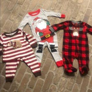 Boy pajama jammies bundle